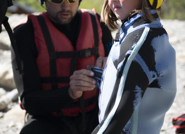 équipement rafting