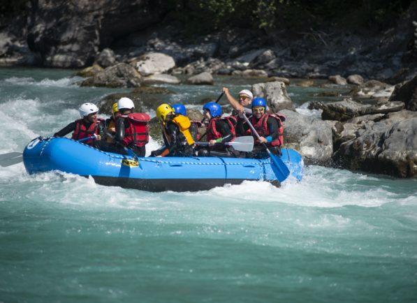 Serre-Ponçon Rafting sur la Durance