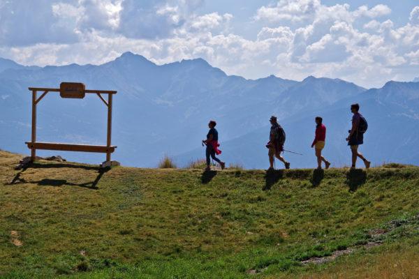 Randonnée pédestre à Serre-Ponçon