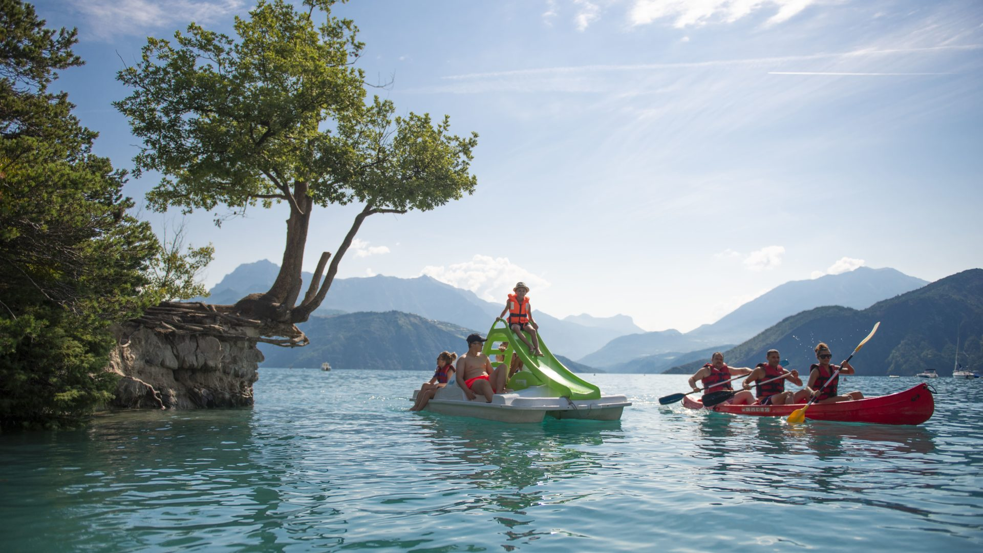 Pedalo canoë-kayak