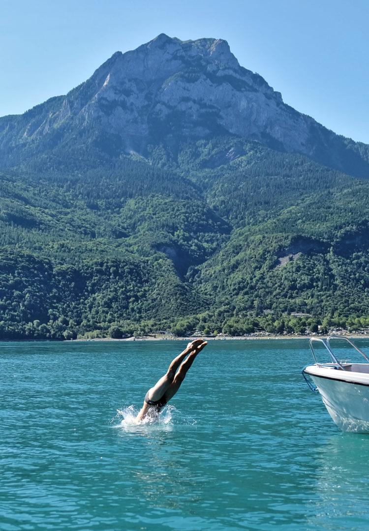 Découverte du lac de Serre-Ponçon