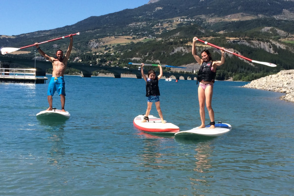 Location de paddle - Savines le lac