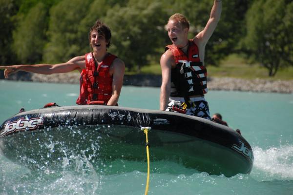 Bouées tractées - Savines le lac