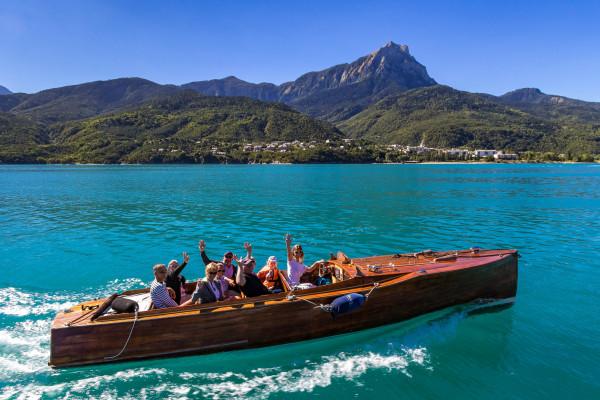 Promenade en bateau - Découverte du lac