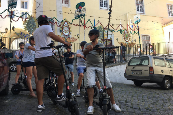 Alfama Tour by E-Scooter
