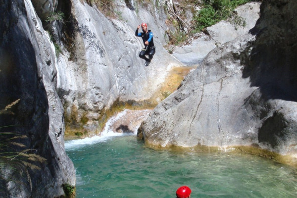 Canyoning Roanette
