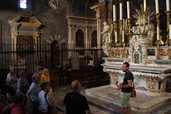 Visite guidée la cathédrale et du trésor d'Embrun