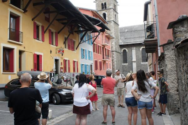 Visite guidée du centre ancien de Barcelonnette