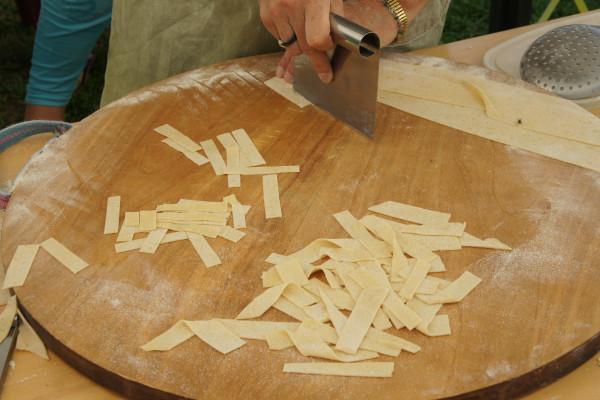 Atelier famille : Pâtes aux herbes - Les Orres