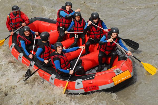 Descente en rafting Rabioux/Embrun