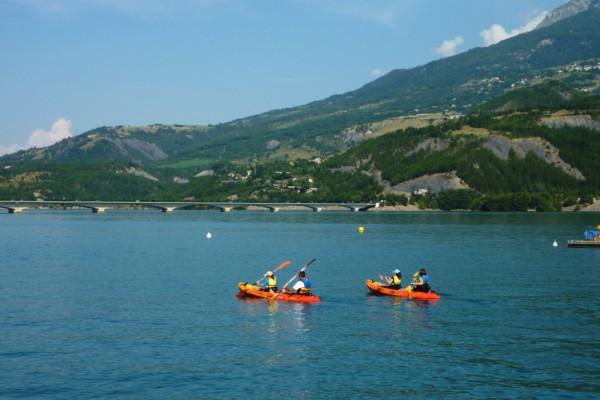 Location canoë-kayak - Savines-le-lac