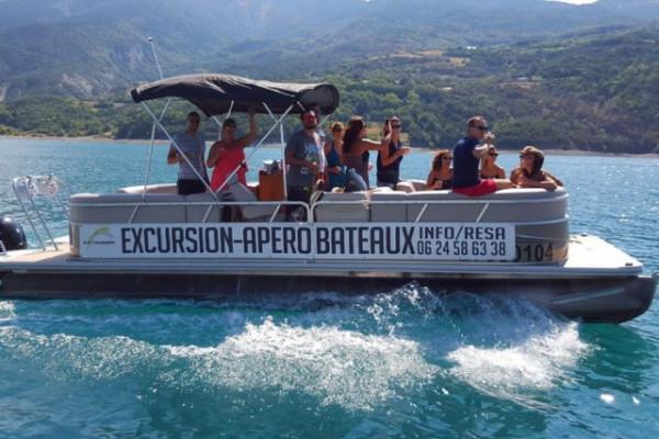 Visite du lac en bateau - Savines-le-lac