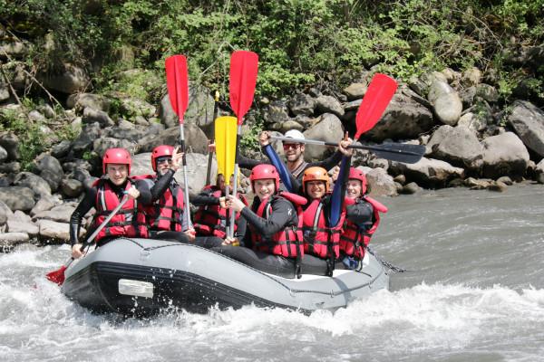 Rafting sur la rivière mythique de l'Ubaye