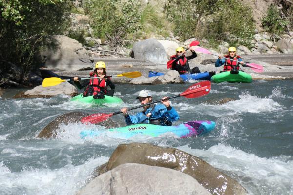 Hot dog/Kayak air, naviguez sur la rivière mythique de l'Ubaye