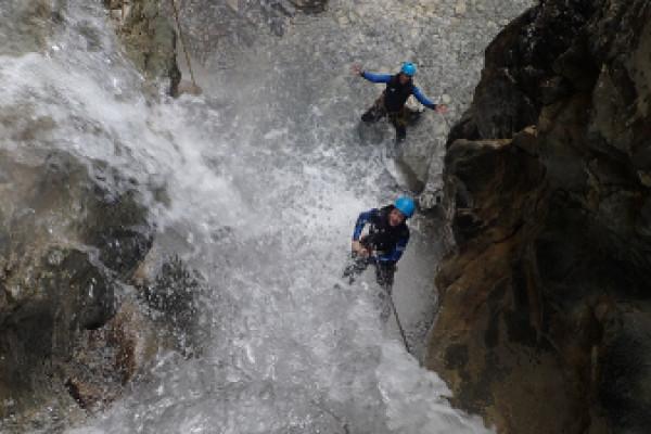 Canyoning, excursion en pleine nature dans l'Ubaye