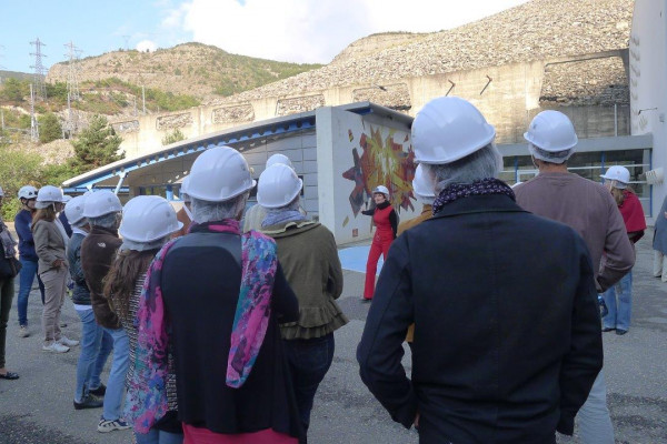 Visite en scène : Cathédrale électrique - Rousset