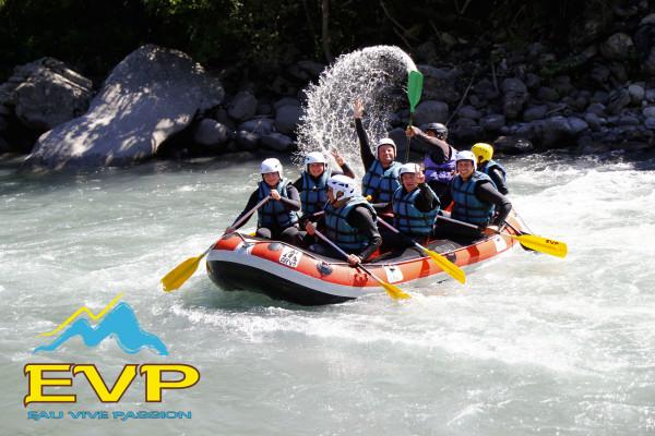 Rafting sur l'Ubaye