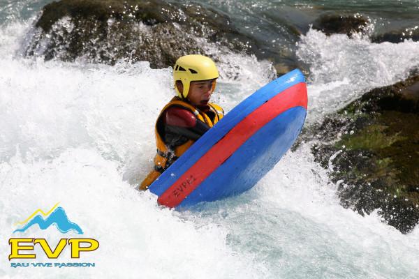 Nage en eau vive (hydrospeed) Durance
